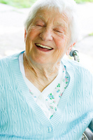Wheelchair senior smile Stock photo [1414977] Wheelchair