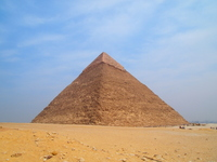Pyramid of Khafre Stock photo [1416058] Pyramid