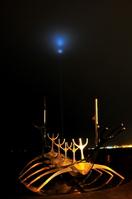 レイキャヴィーク 船のオブジェ