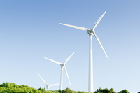 Views of the wind power generation Stock photo [1417590] Wind