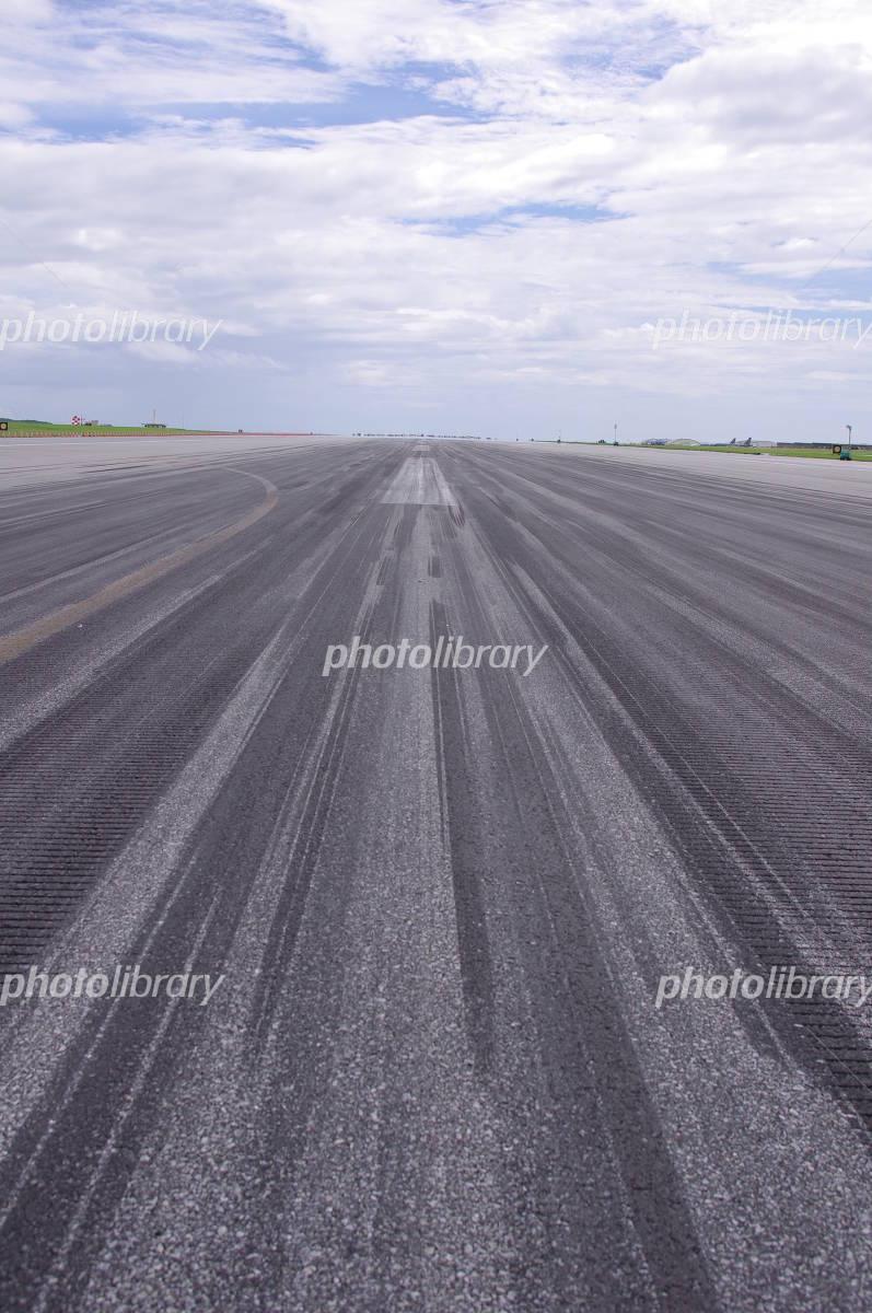 Kadena Air Base runway Photo