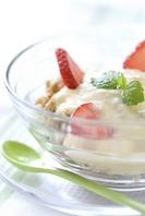 Yogurt and cereal Stock photo [1508621] Strawberry