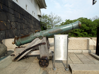 大阪城の大砲