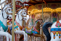 The merry-go-round Stock photo [1512882] The