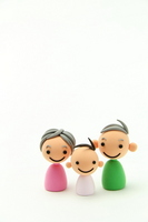 Family of clay Stock photo [1514417] Person