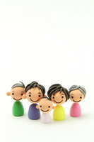 Family of clay Stock photo [1514425] Person