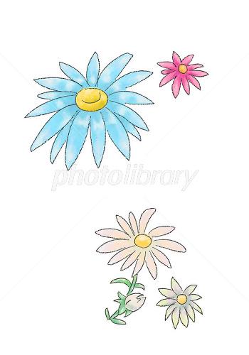 手書き風の花 イラスト素材 1616158 フォトライブラリー Photolibrary