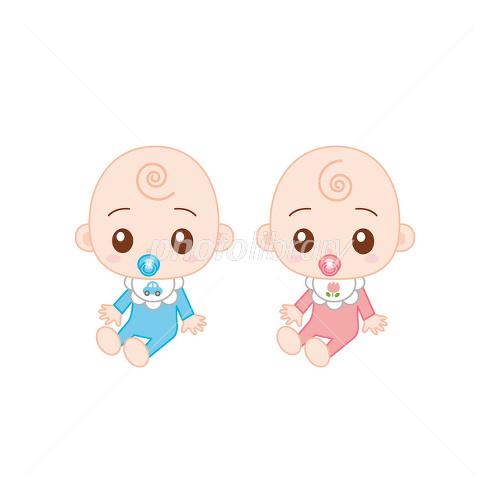 イラスト 双子