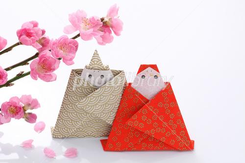 花 折り紙 桃の花 折り紙 : hagifood.com