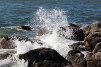 crumble rough seas Stock photo [1613016] Wave
