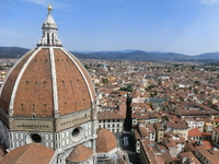 Cathedral and the city of Florence Stock photo [1613070] Florence