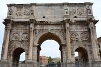 Arc de Triomphe of Rome, Italy Constantine Stock photo [1613250] Italy