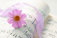 Cosmos and music Stock photo [1613517] Cosmos