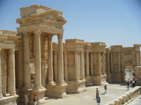 Syria World Heritage Palmyra Stock photo [1613781] Syria