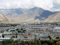 Tibet Lhasa city landscape Stock photo [1615967] Lhasa