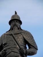 Yongdusan Park Admiral Yi Sun-sin statue. Asia