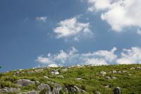 Grassland and blue sky of karst plateau Stock photo [1618544] Outside
