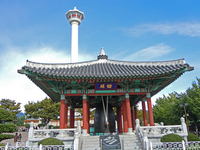 Bell of Yongdusan park. Stock photo [1618652] Asia