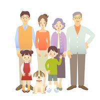Family illustrations [1714715] Family