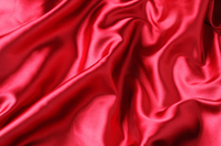 Red satin Stock photo [1716340] Fabric