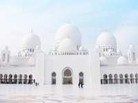 Sheikh Zayed Mosque Stock photo [1717895] Sheikh