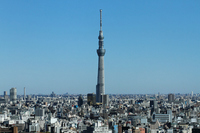 Tokyo Sky Tree and buildings Stock photo [1719212] Landscape