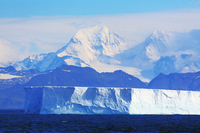 Antarctic mountains glacier iceberg Stock photo [1720562] Landscape