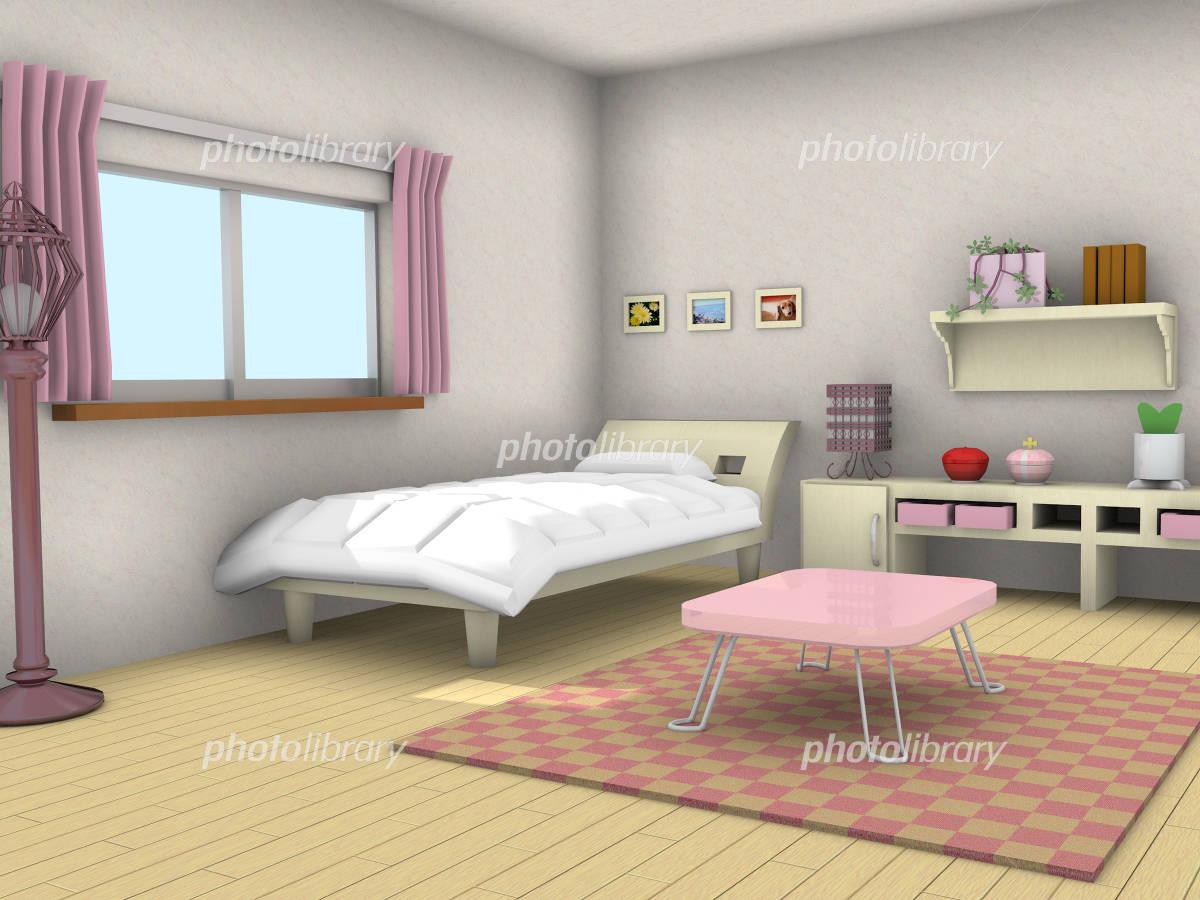 女の子の部屋の写真素材 人気順 フォトライブラリー Photolibrary