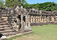 Angkor ruins elephant terrace Stock photo [1788069] World