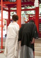 Shinto-style weddings Stock photo [1799177] Marriage