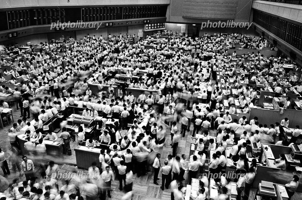 東京証券取引所 写真素材 [ 1895651 ] - フォトライブラリー photolibrary
