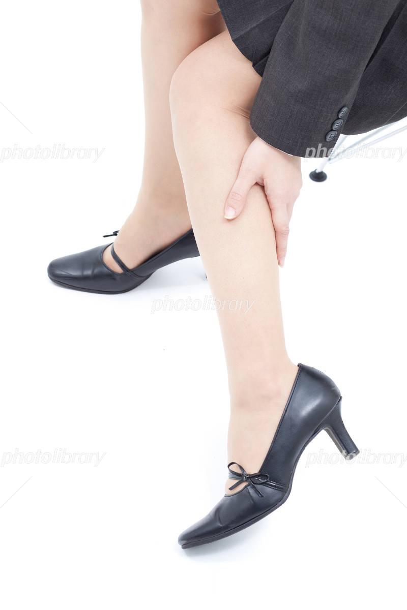 足のむくみの写真