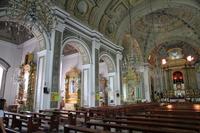 Inside of world heritage San Agustin Church Stock photo [1897749] san