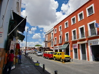 Streets of Puebla Stock photo [1902381] Puebla