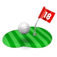 Golf ball and green [1903934] Golf