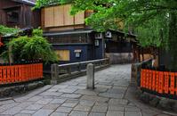 Shirakawa Gion (Tatsumi-kyo) Stock photo [2004208] Gion