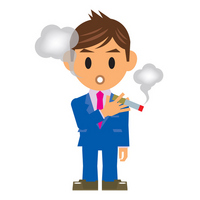 Businessman illustrations tobacco Tobacco