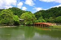Pure Land garden (white water Amida) Stock photo [2009215] Bridge