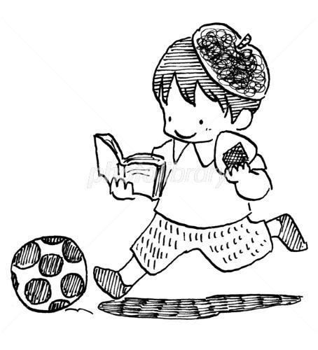読書スポーツ食欲芸術の秋 イラスト素材 2119470 フォト