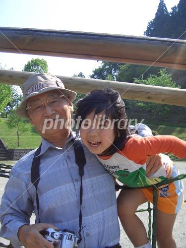 Grandpa and grandson Photo