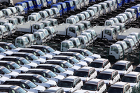 Automobile import and export Stock photo [2112508] Automotive