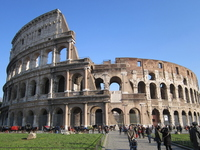 The Colosseum Stock photo [2118195] The