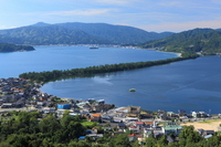 Summer of Amanohashidate Stock photo [2118854] Landscape