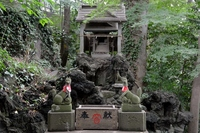 川越城富士見櫓跡 御嶽神社