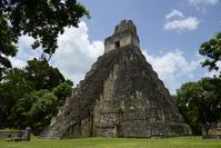 Tikal ruins No. 1 Temple Stock photo [2120427] World