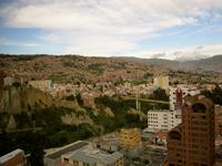 Cityscape of La Paz Stock photo [2120731] La
