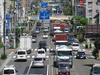 Ring seven ways Wakabayashi near railroad crossing Stock photo [2122960] Ring