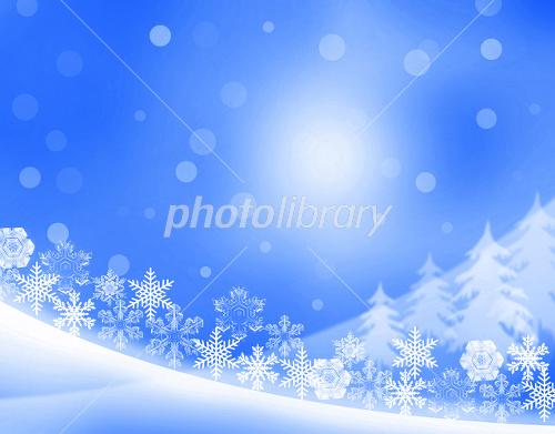 クリスマス風景 イラスト素材 2215818 フォトライブラリー