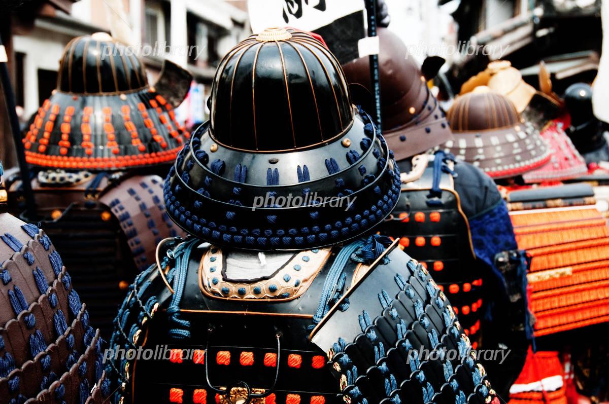 Rear View of the samurai Photo