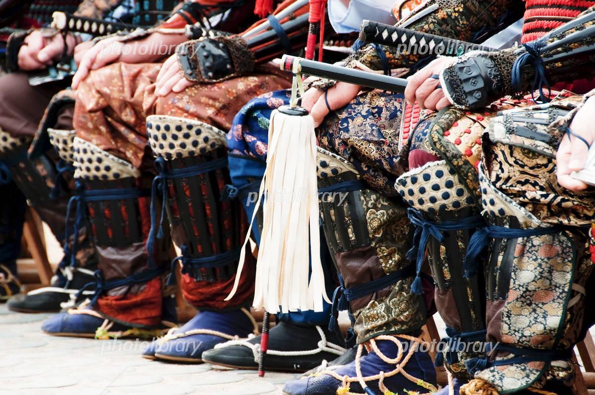 武士の出陣 写真素材 [ 2215930 ] - フォトライブラリー photolibrary